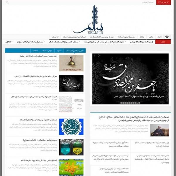 طراحی وبسایت سلم